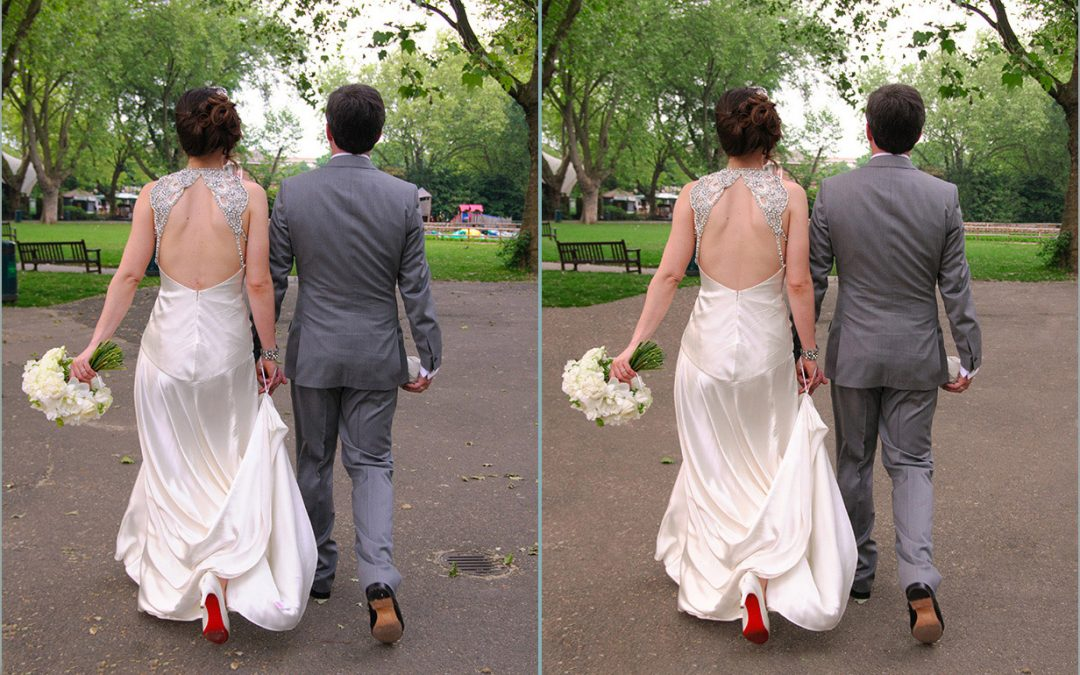 Photoshop – Less is More When it Comes to Wedding Photography