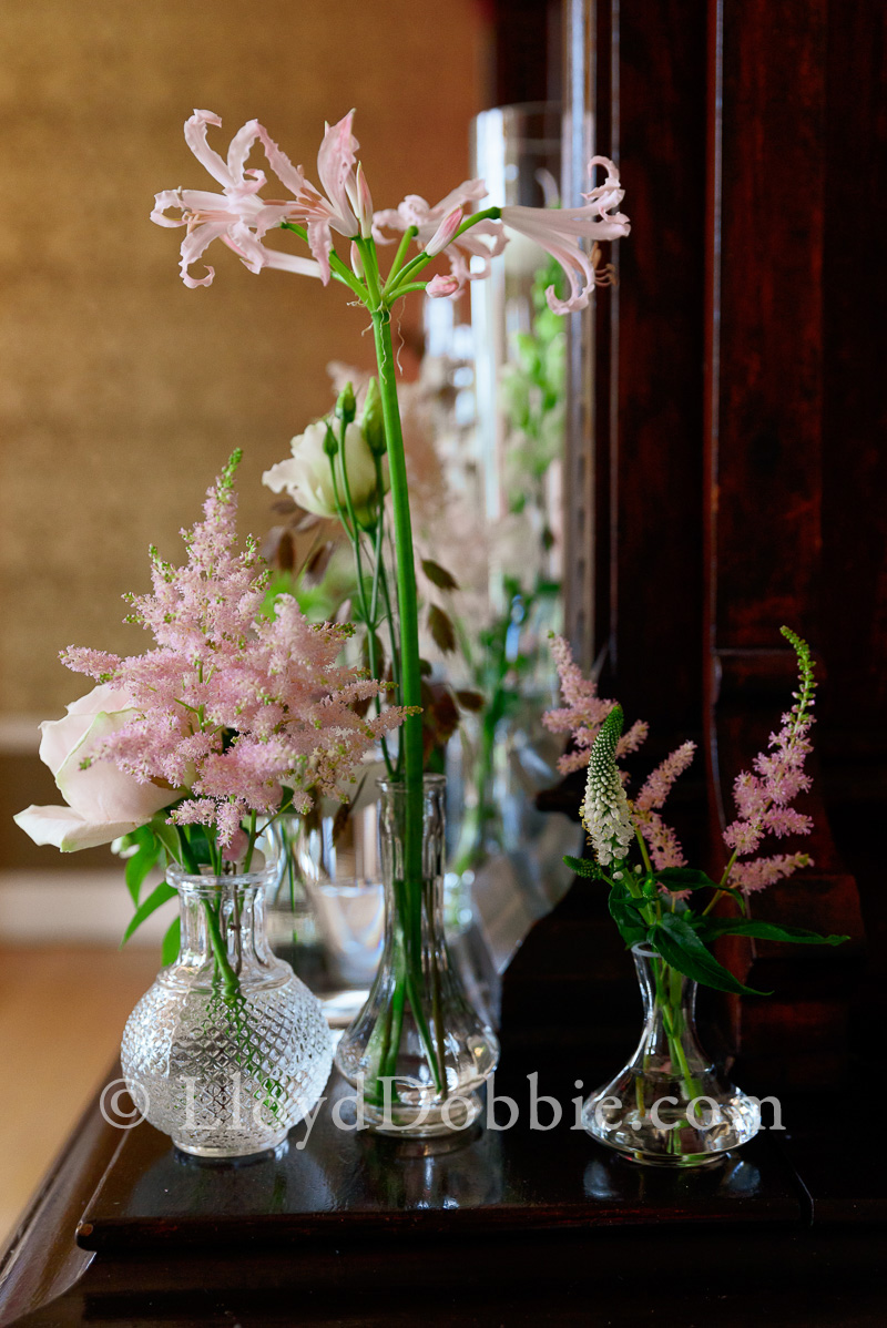wedding flowers at nonsuch mansion