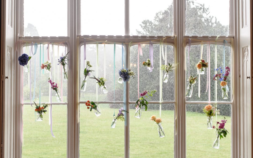 rainy day outside window at nonsuch mansion