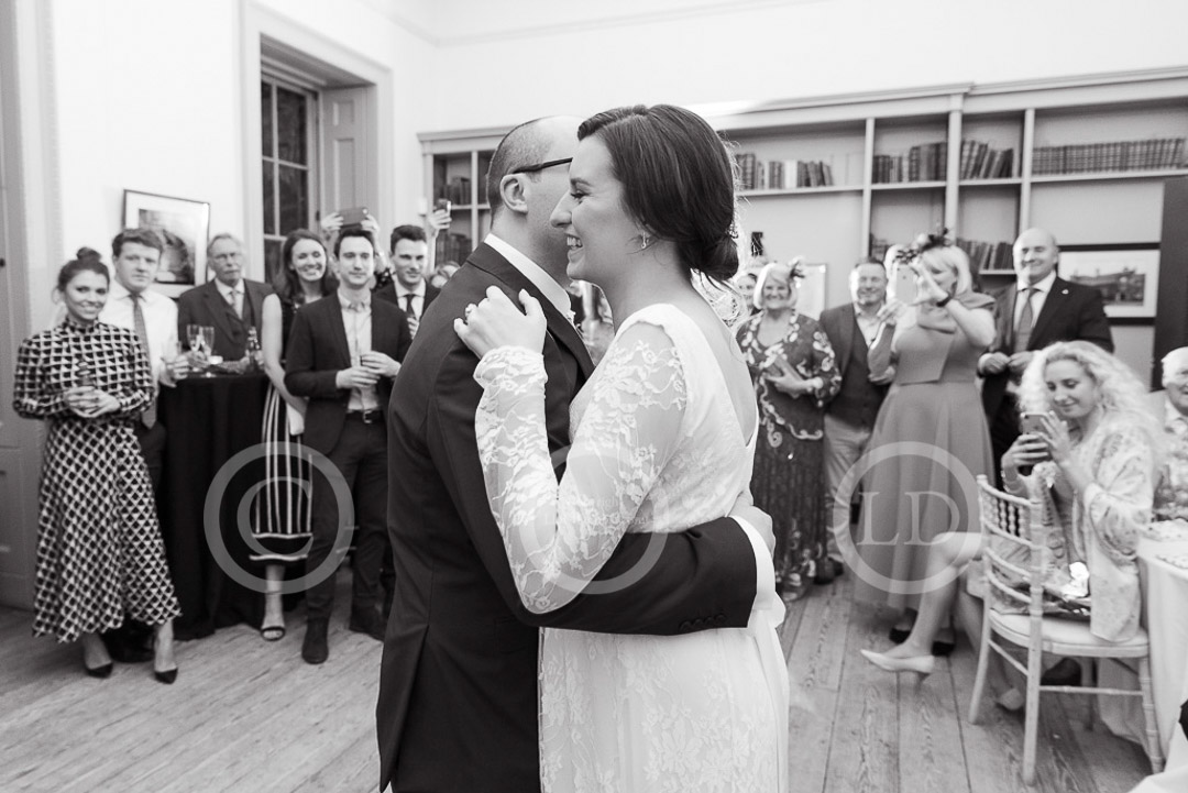 first dance at fulham palace wedding