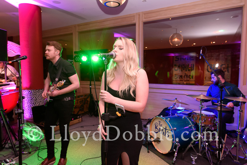 live band playing at the Croc